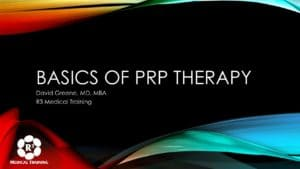 Basics of PRP Therapy-2