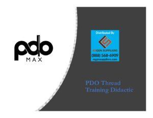 PDO Max Training Presentation