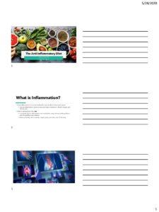Module 5 - Anti Inflammatory Diet