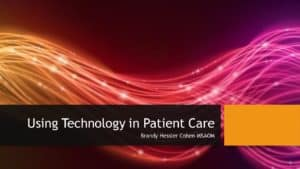Module 9 - Technology in Patient Care