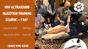 MSK Ultrasound injection training course day-1