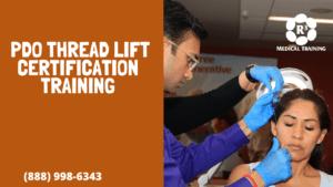 PDO thread lift certification training